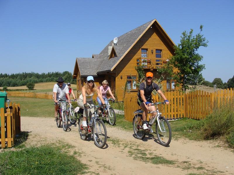 Suwalszczyzna agroturystyka Sejny-z dzieckiem, rowery