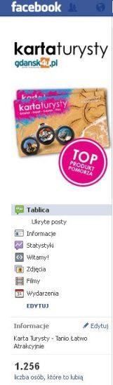 Karta Turysty na Facebooku