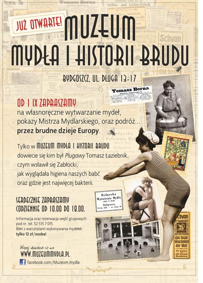 Muzeum Mydła i Historii Brudu Bydgoszcz