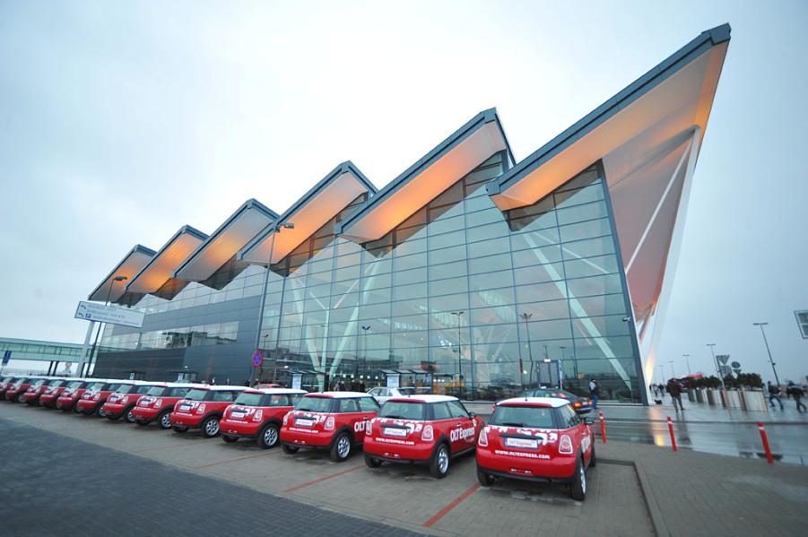 Nowy Terminal T2 - lotnisko Gdańsk