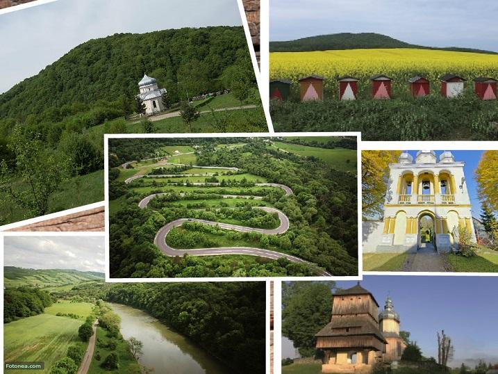 Gmina Sanok- atrakcje turystyczne